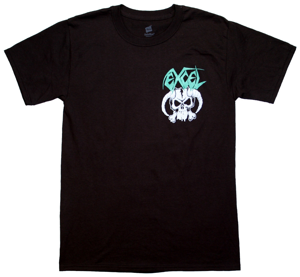 Excel / Skull & Horns Tee (Black)