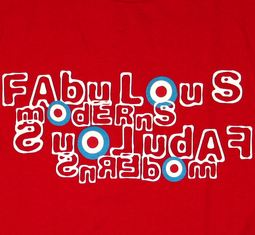 Fabulous Moderns Tee (Red)