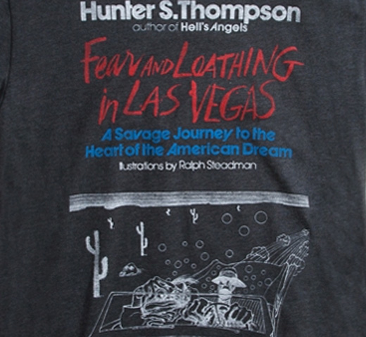 [Out of Print] Hunter S. Thompson / Fear and Loathing in Las Vegas Tee (Black)