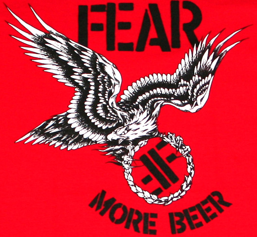 Fear / More Beer Tee