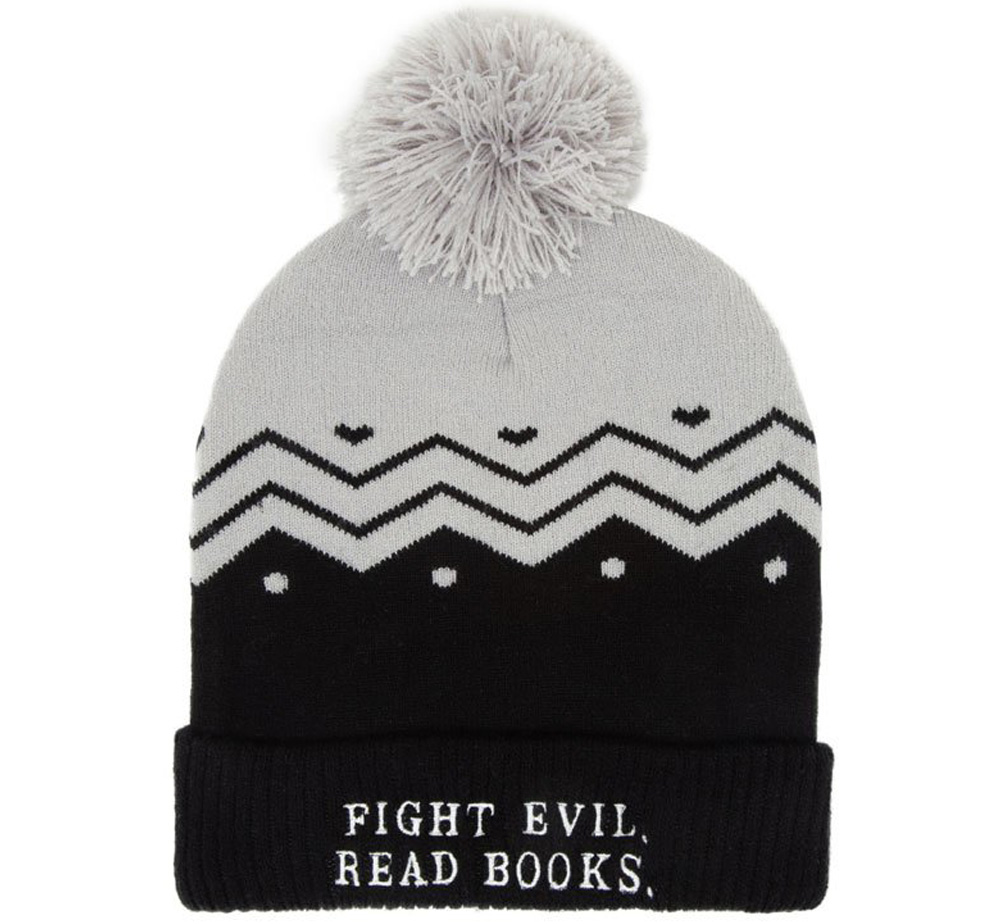 [Out of Print] Fight Evil, Read Books Beanie