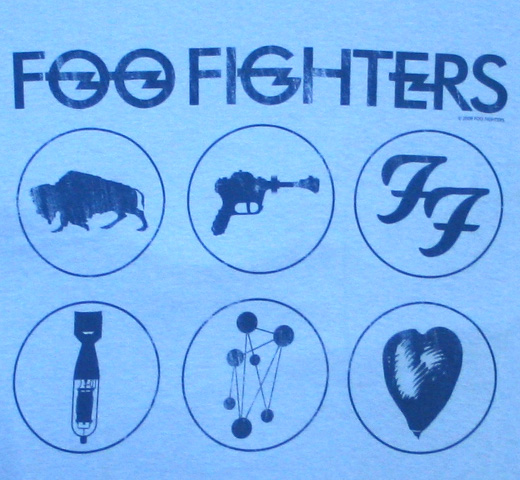Foo Fighters / Album Collection Tee (Sax Blue)