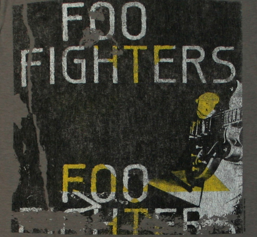Foo Fighters / Box Guitar Tee (Grey)