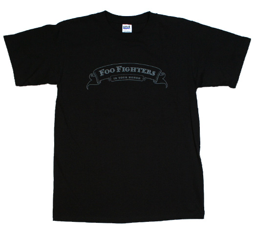 Foo Fighters / In Your Honor Tee (Black)