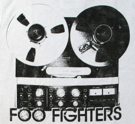 Foo Fighters / Reel to Reel Tee (Grey)