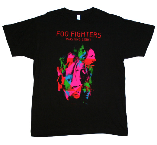 Foo Fighters / Wasting Light Tee (Black)
