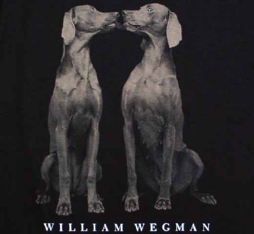 [FOTOFOLIO] William Wegman / Arc Tee (Black)
