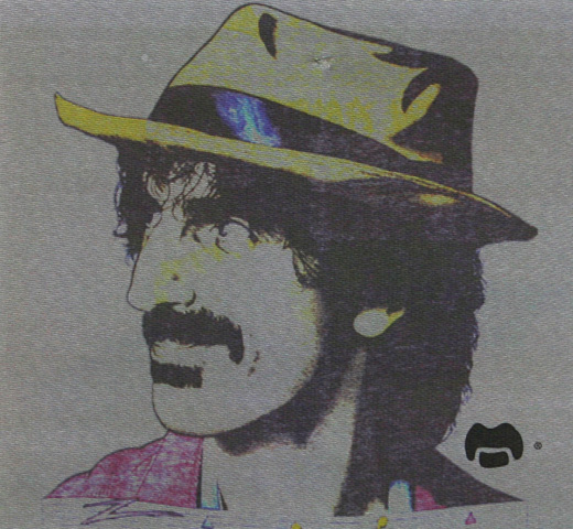 【Worn Free】 Frank Zappa / Frank Hat Oversized Roadie Tee (Grey) (Womens)
