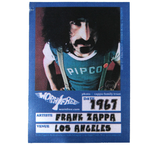 【Worn Free】 Frank Zappa / PIPCO Tee (Green / White CS)