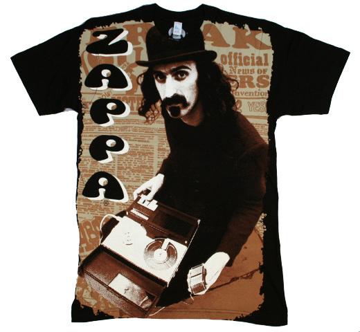 Frank Zappa / Reel to Reel Big Print Tee