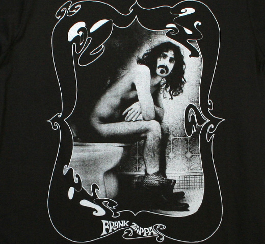 Frank Zappa / Throne Tee (Charcoal)