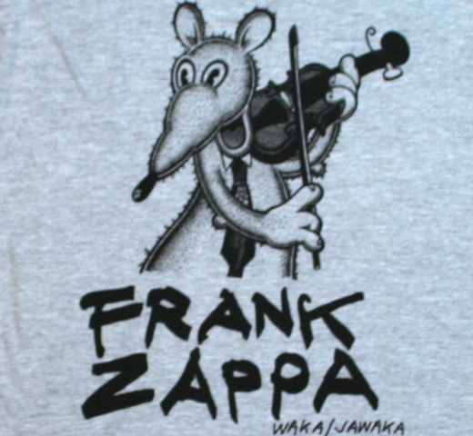 Frank Zappa / Waka/Jawaka Tee (Heather Grey)
