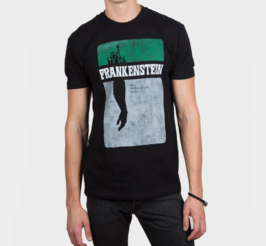 [Out of Print] Mary Wollstonecraft Shelley / Frankenstein Tee (Black)