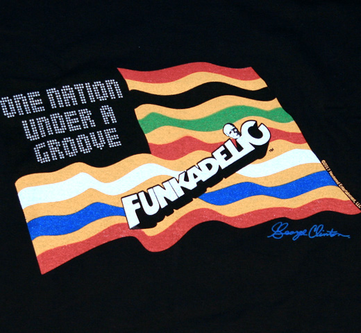 Funkadelic / One Nation Under A Groove Tee (Black)