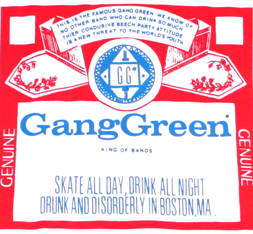 Gang Green / Bud Tee