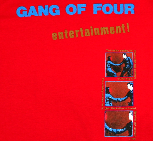 Gang Of Four / Entertainment! Tee