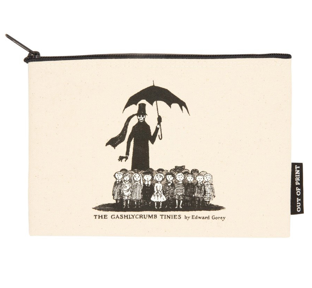 [Out of Print] Edward Gorey / The Gashlycrumb Tinies Pouch