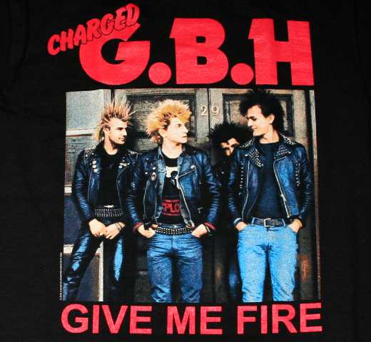 G.B.H / Give Me Fire Tee