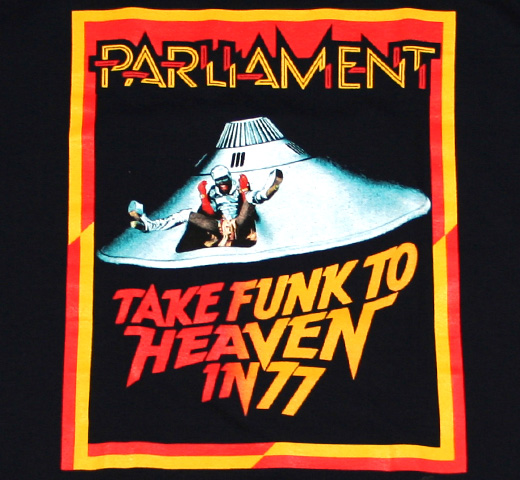 Parliament / Take Funk To Heavy In 77 Tee