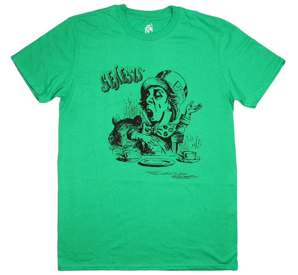Genesis / The Mad Hatter Tee (Green)