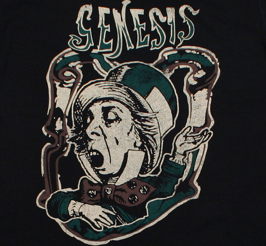 Genesis / The Mad Hatter Tee 2 (Black)