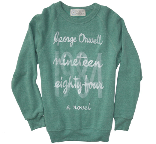 【Out of Print】 George Orwell / 1984 Fleece (Heather Green)