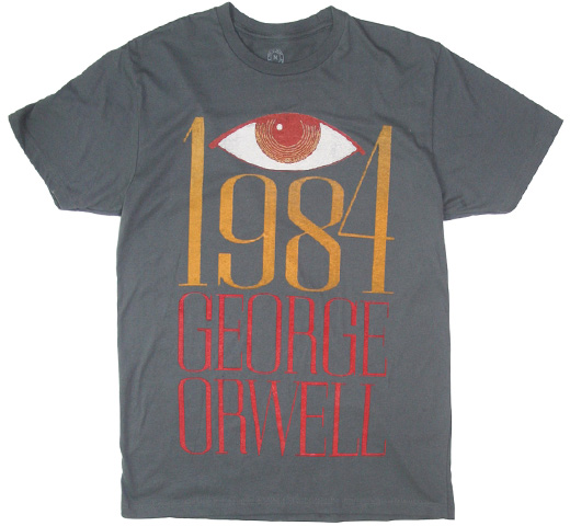 【Out of Print】 George Orwell / 1984 Tee (Heavy Metal)