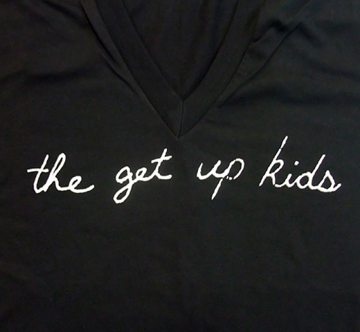 The Get Up Kids / Script Logo V-Neck Tee