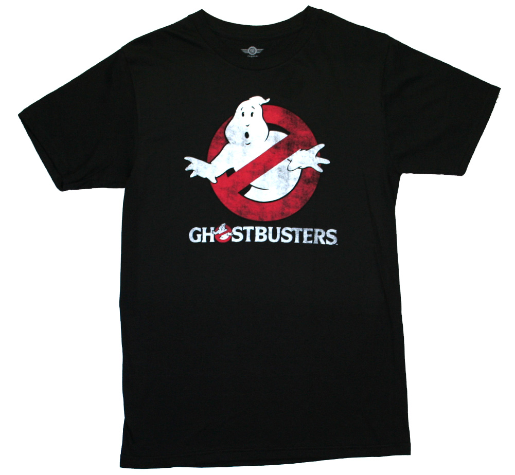 Ghostbusters / Logo Tee (Black) (Glow in the Dark)