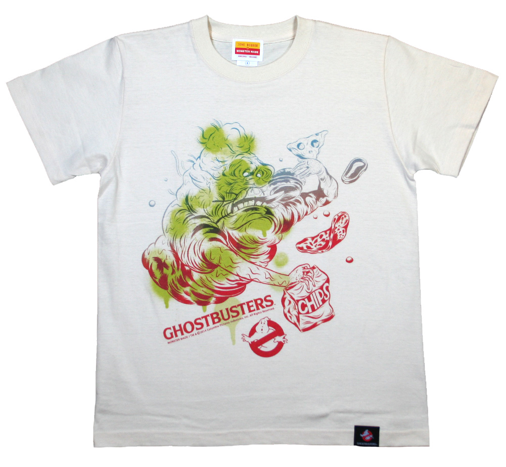 Ghostbusters / Slimer Tee (Natural)