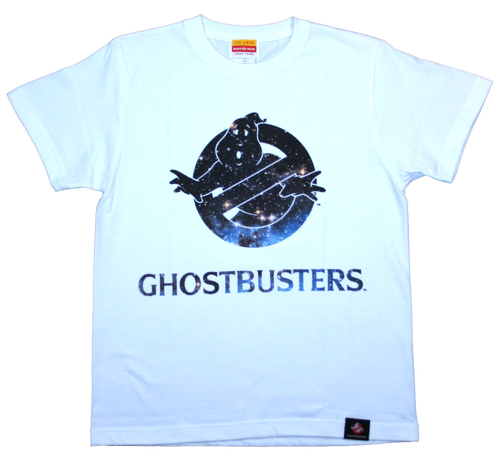 Ghostbusters / Space Tee 2 (White)