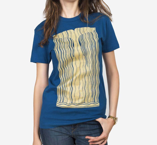 [Out of Print] Herman Melville / Moby-Dick Tee [Gilded] (Cool Blue)