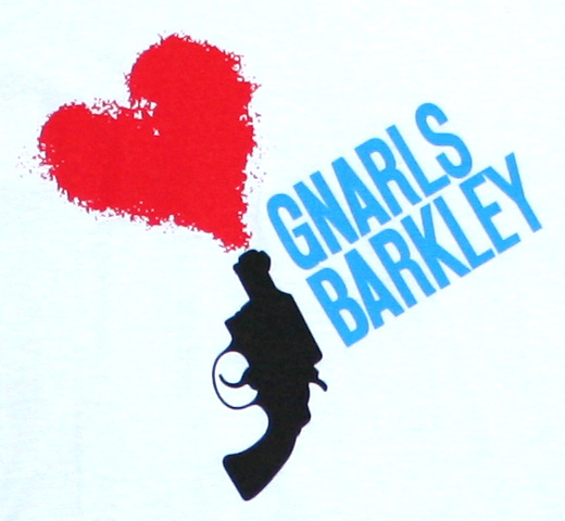 Gnarls Barkley / Love Gun Tee (White)