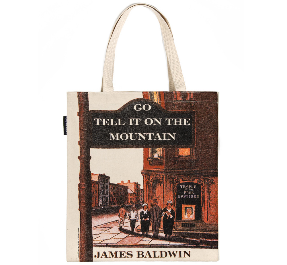 【Out of Print】 James Baldwin / Go Tell It on the Mountain Tote Bag