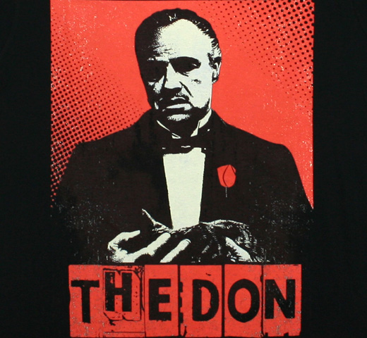 The Godfather / The Don Tee (Black)