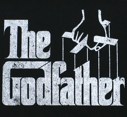 Mario Puzo / The Godfather Tee 1 (Black)