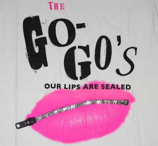 Go-Go's / Our Lips Are Sealed Tee (Ladies)