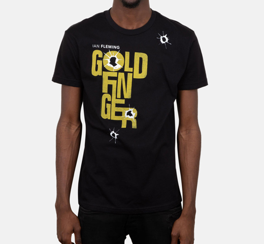 [Out of Print] Ian Fleming / Goldfinger Tee (Black)