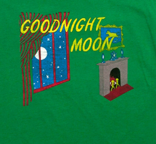 [Out of Print] Margaret Wise Brown / Goodnight Moon Tee (Kelly Green)