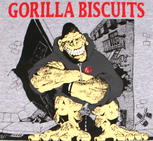Gorilla Biscuits / Hold Your Ground Tee