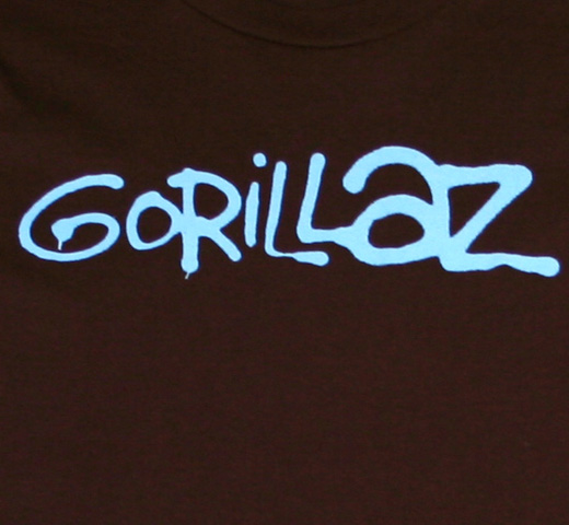Gorillaz / Gorillaz Tee (Brown) (Womens)