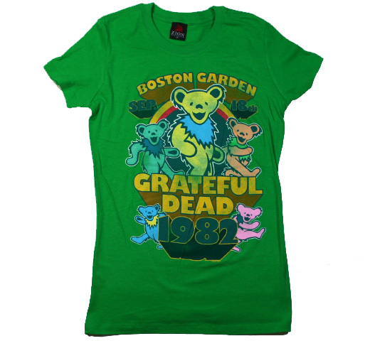 Grateful Dead / Boston Tee (Kelly) (Womens)