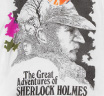 【Out of Print】 Arthur Conan Doyle / The Great Adventures of Sherlock Holmes Tee (White) (Womens)