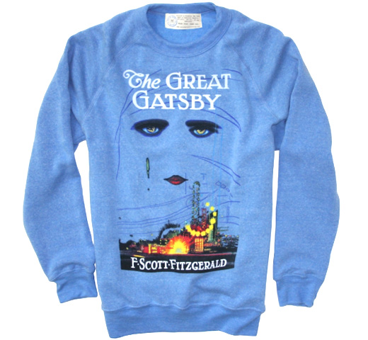 【Out of Print】 F. Scott Fitzgerald / The Great Gatsby Fleece (Blue)