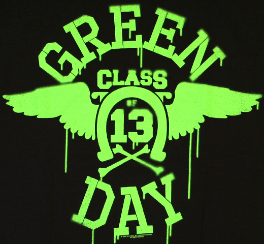 Green Day / Neon Wings Tee
