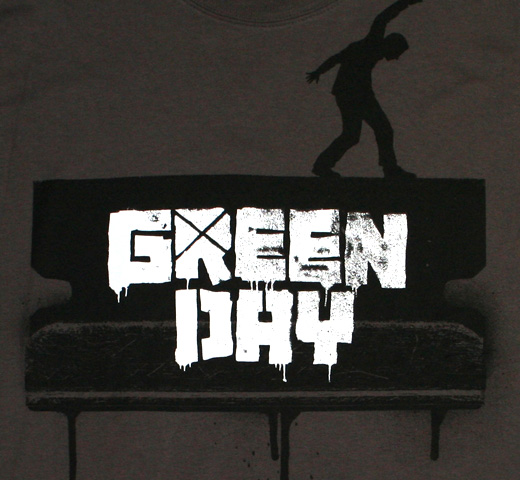 Green Day / Razor Walk Tee (Charcoal)