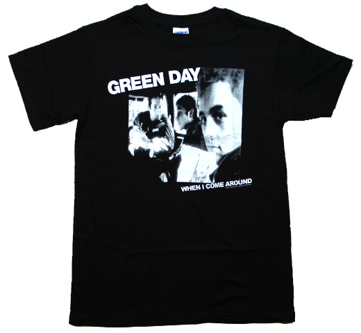 Green Day / When I Come Around Tee (Black)