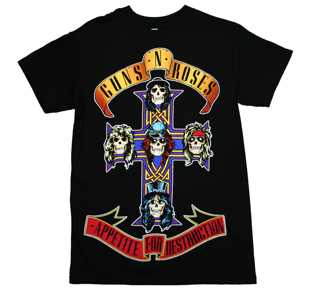 Guns N' Roses / Appetite for Destruction Tee 2 (Black)
