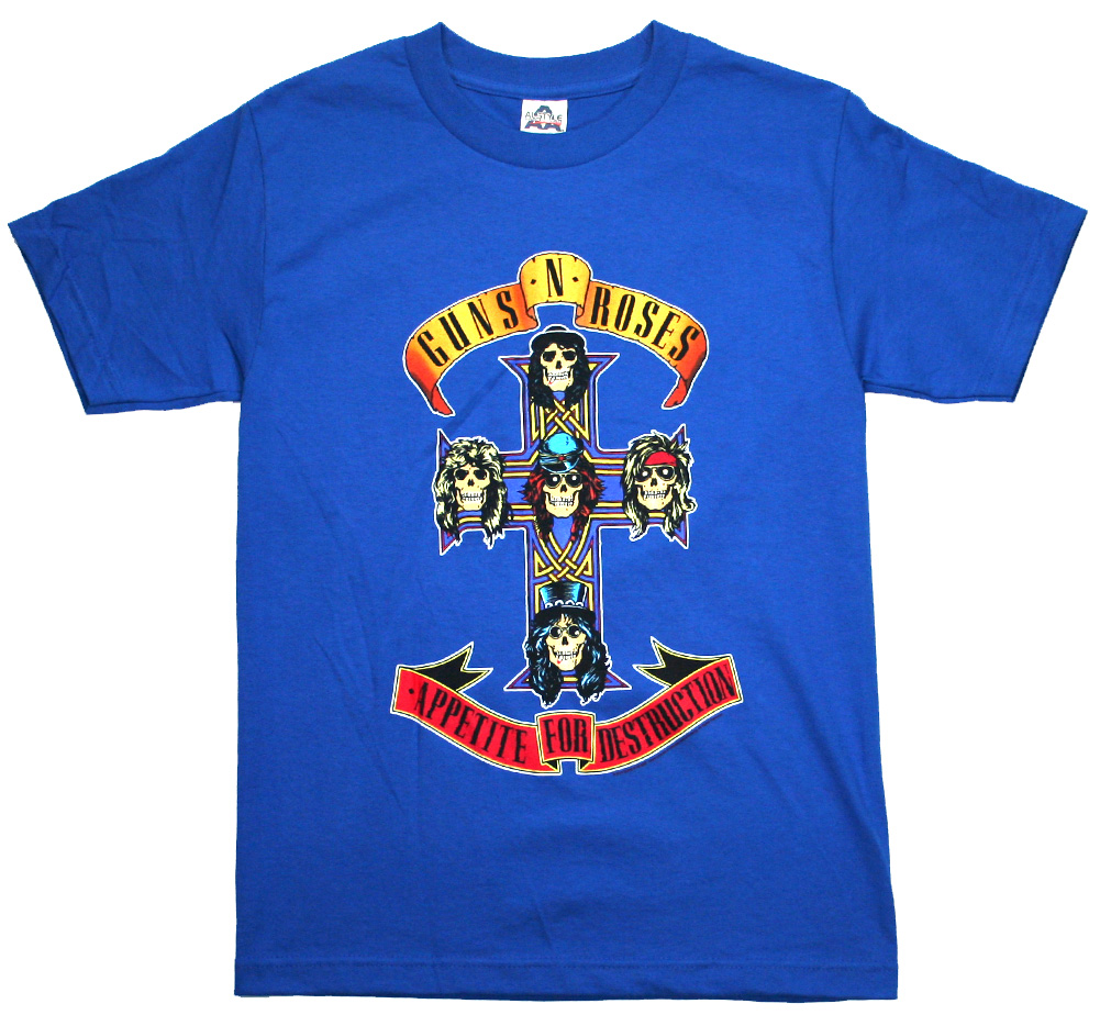 Guns N' Roses / Appetite for Destruction Tee (Royal)