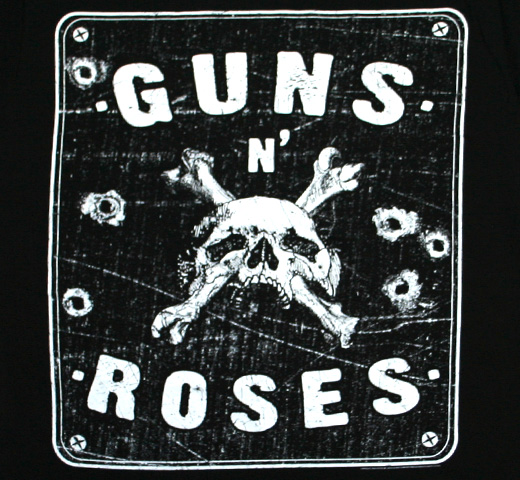 Guns N' Roses / Street Sign Tee (Black)